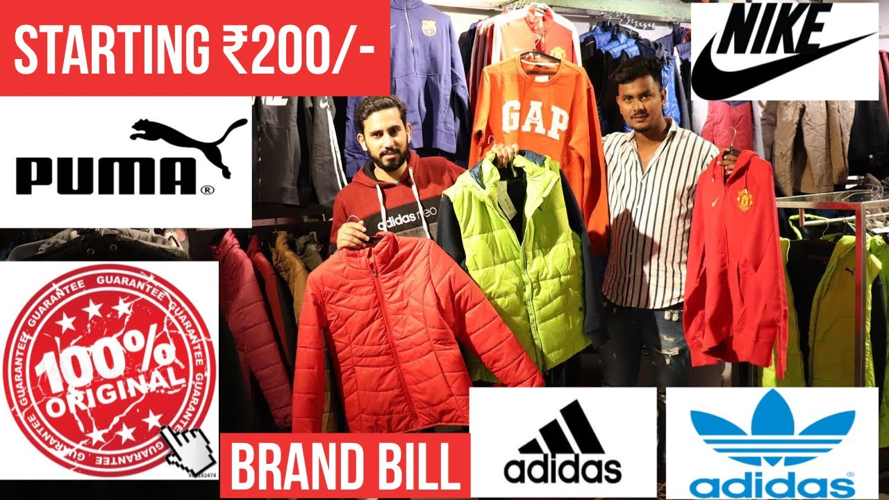 Branded Clothes At Cheap Price 100 Original Clothes With Brand Bill And Warranty Sweat Shirts Youtube