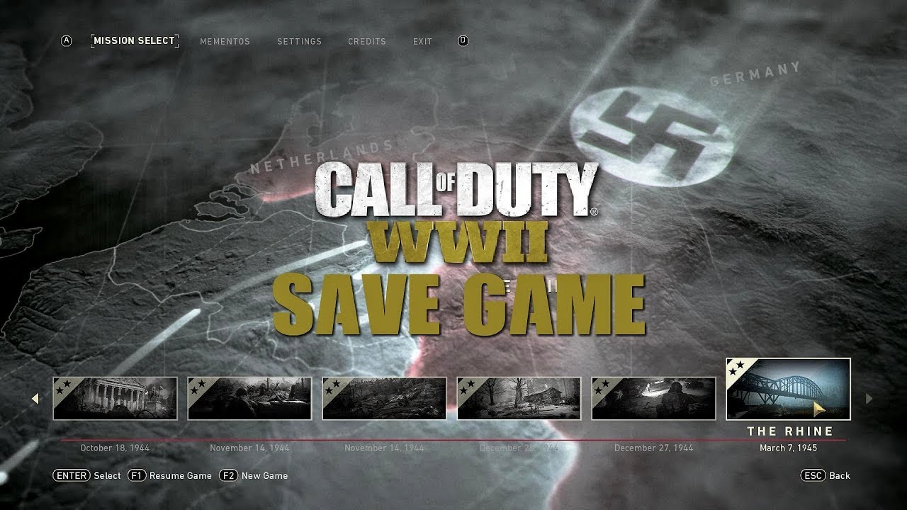 Call Of Duty 2 | Savegame-Download