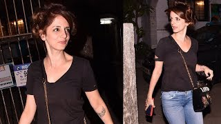 Hrithik Roshan's Ex Wife Sussanne Khan Spotted Outside A Spa In Mumbai
