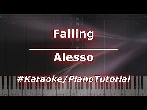 Alesso - Falling KaraokePianoTutorialInstrumental