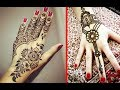 Beautiful Back Hand Mehndi Design Ideas