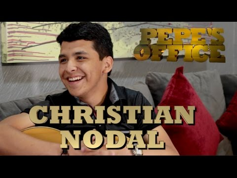 CHRISTIAN NODAL SORPRENDE A PEPE GARZA - Pepe's Office