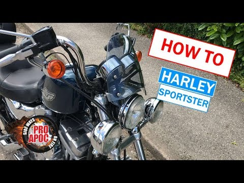 Long road trip set up for Harley Sportster guide