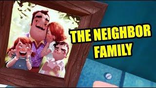 Hello Neighbor NEW SECRET - THE NEIGHBOR FAMILY