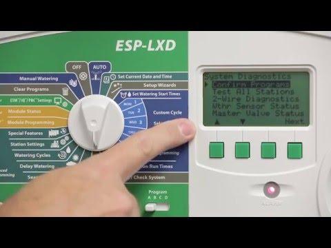rain bird esp lxd series two wire decoder irrigation controller