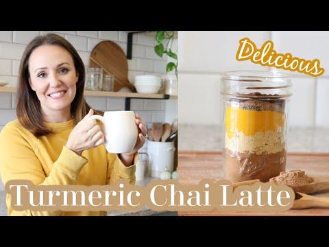 Caffeine-Free Turmeric Chai Tea | Chai Tea Mix | Homemade Chai Tea | Caffeine-Free Chai Mix