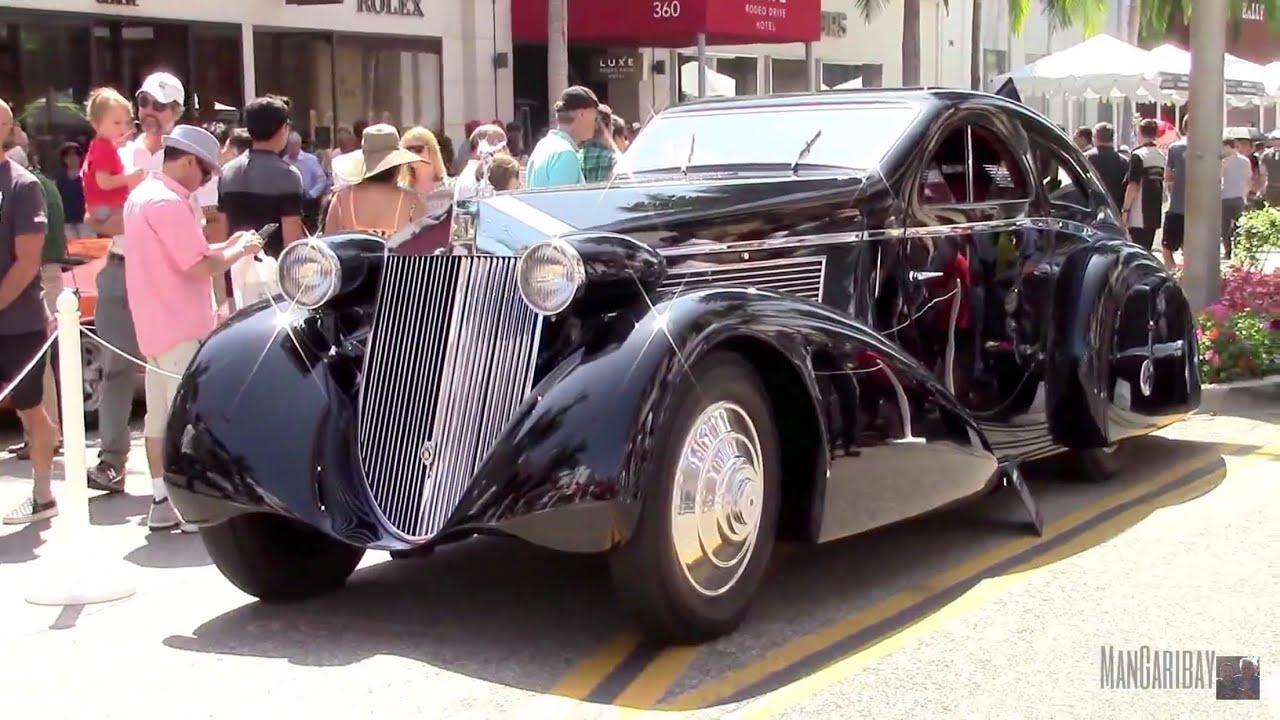 1925 rolls royce phantom round door aerodynamic coupe for 1925 rolls royce round door