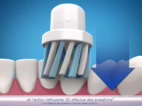 la brosse dents lectrique oral b pro 700 youtube. Black Bedroom Furniture Sets. Home Design Ideas