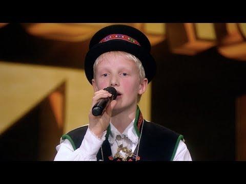 Vetle (13) trollbinder med tradisjonsrik sang (Norske talenter 2018)