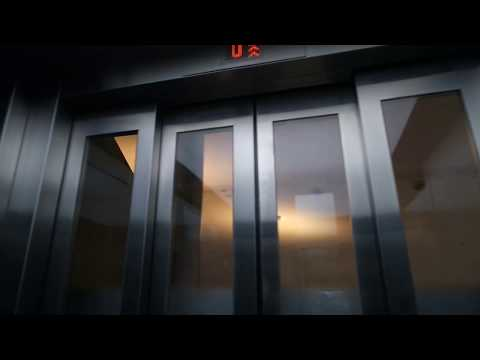 Brand new! Kone traction elevators/lifts in Lauttasaari metro station, Helsinki