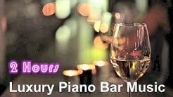 Piano Bar & Piano Bar Music: Best of Piano Bar Smooth Jazz Club at Midnight Buddha Cafe Video