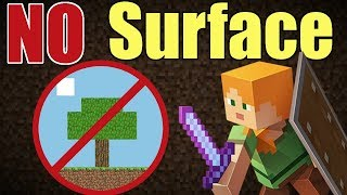 Is It Possible to Beat Minecraft Without Going Above Ground? - Minecraft Challenge
