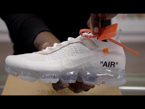 8bb43d048aad9 Смотреть видео Unboxing  Off-White x Nike Vapormax 2018