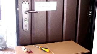 Замена личинки в китайском замке (495) 665-15-32(Внимание! Будьте внимательны и не потеряйте опорных пружин, установленных в ручках. Они поджимают квадрат..., 2013-08-15T22:31:45.000Z)