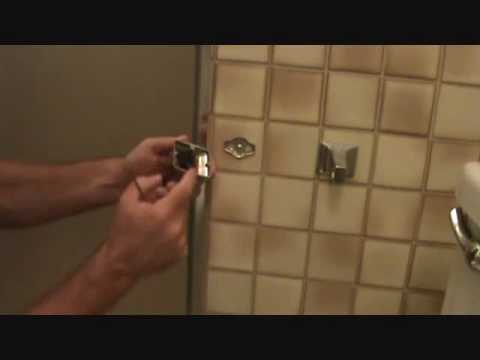 How To Replace A Toilet Paper Holder Removing The Toilet Paper