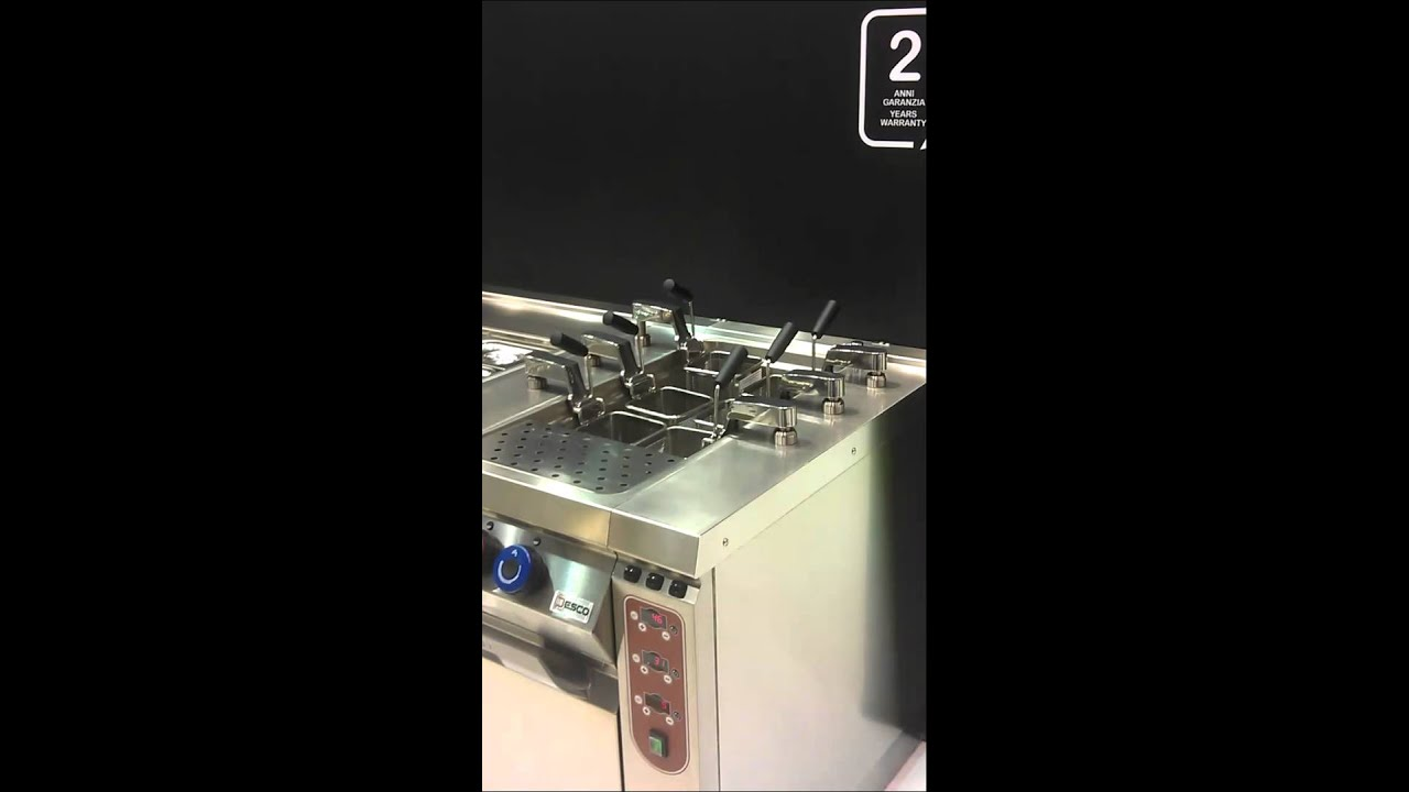Youtube Automated Cms By Teedeskdev: Desco Automated Pasta And Noodle Cooking Station