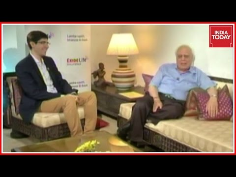 Kapil Sibal & Son Akhil Exclusive Interview With Karan Thapar