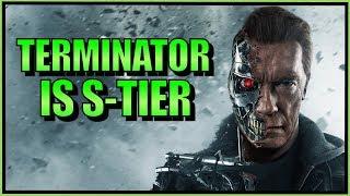 SonicFox - Terminator Is S-Tier【Mortal Kombat 11】