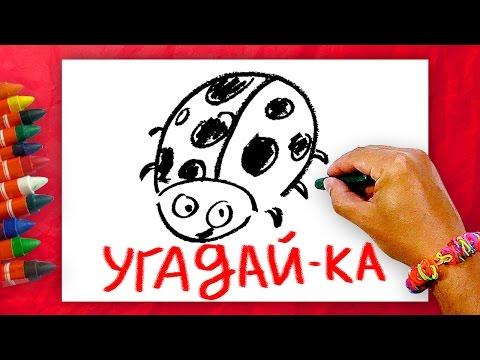 Загадки для детей, Угадай-ка? Загадки про Насекумых + Урок рисования для детей