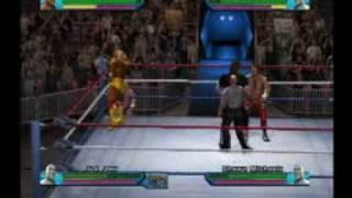 Showdown Legends of Wrestling : Hogan v Flair v Taker v HBK