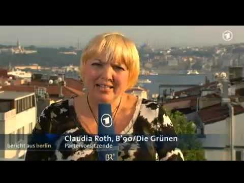 Claudia Roth after Gezi protest
