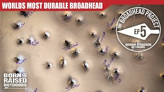 The TOUGHEST BROADHEAD available!