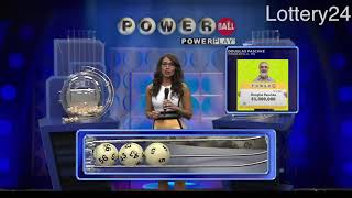 2018 08 11 Powerball Numbers and draw results
