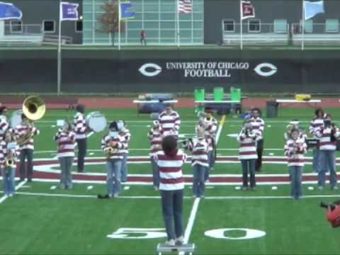 The University of Chicago Band Halftime Show
