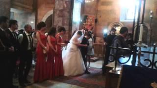 Венчание в армянской церкви