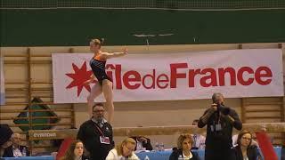 Astrid De Zeeuw (2003) - Tournois international de Combs la Ville 2017