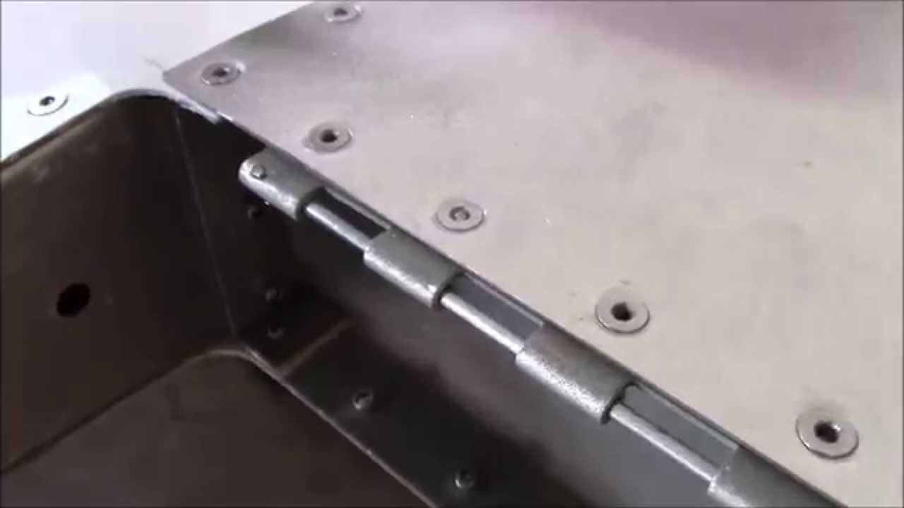 how to make a small hinge
