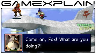 Smash Bros 3DS: Secret Star Fox Conversations in Corneria (Easter Egg)