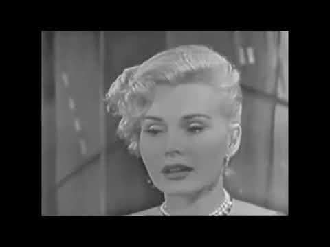 Zsa Zsa Gabor: On, The Tonight Show - 1954