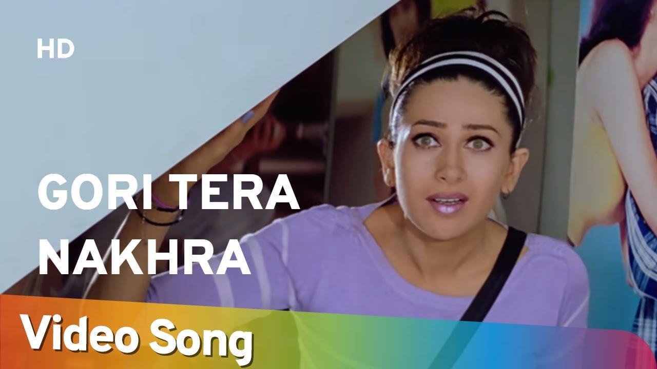 Gori Tera Nakhra | Aashiq (2001) | Bobby Deol | Karisma Kapoor | Filmi Gaane
