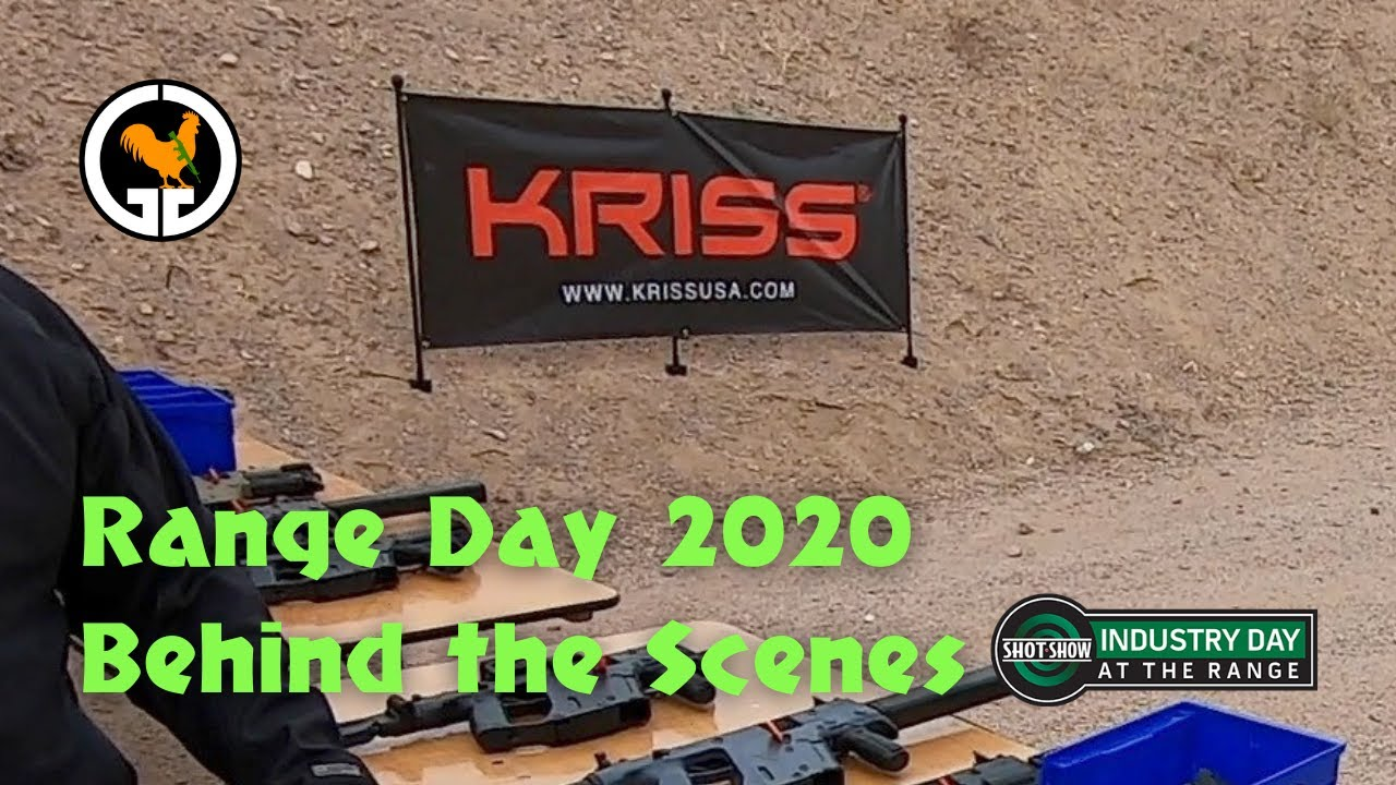 Range Day 2020 Behind The Scenes - KRISS USA