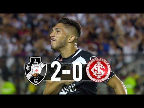 Vasco 2 x 0 Internacional Gols e Melhores Momentos 1º Tempo Brasileirão 07/06/2019