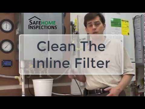 Cleaning The Rinnai Tankless Water Heater Filter