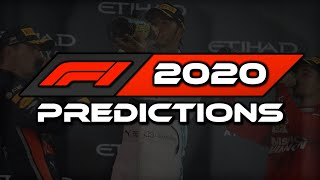 F1 2020 Predictions