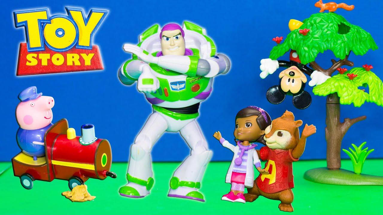 Buzz Lightyear Toy Story Buzz Saves The Day Buzz Saves Doc
