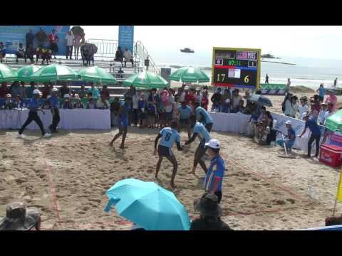 5th Danang beach asian game kabaddi - SRI LANKA vs MALAYSIA (men)