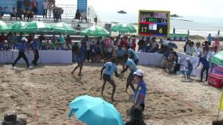 5th Danang beach asian game kabaddi - SRI LANKA vs MALAYSIA (men)