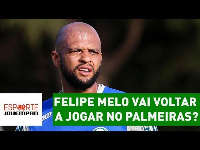 Felipe Melo vai voltar a JOGAR no Palmeiras? ENTENDA cenário