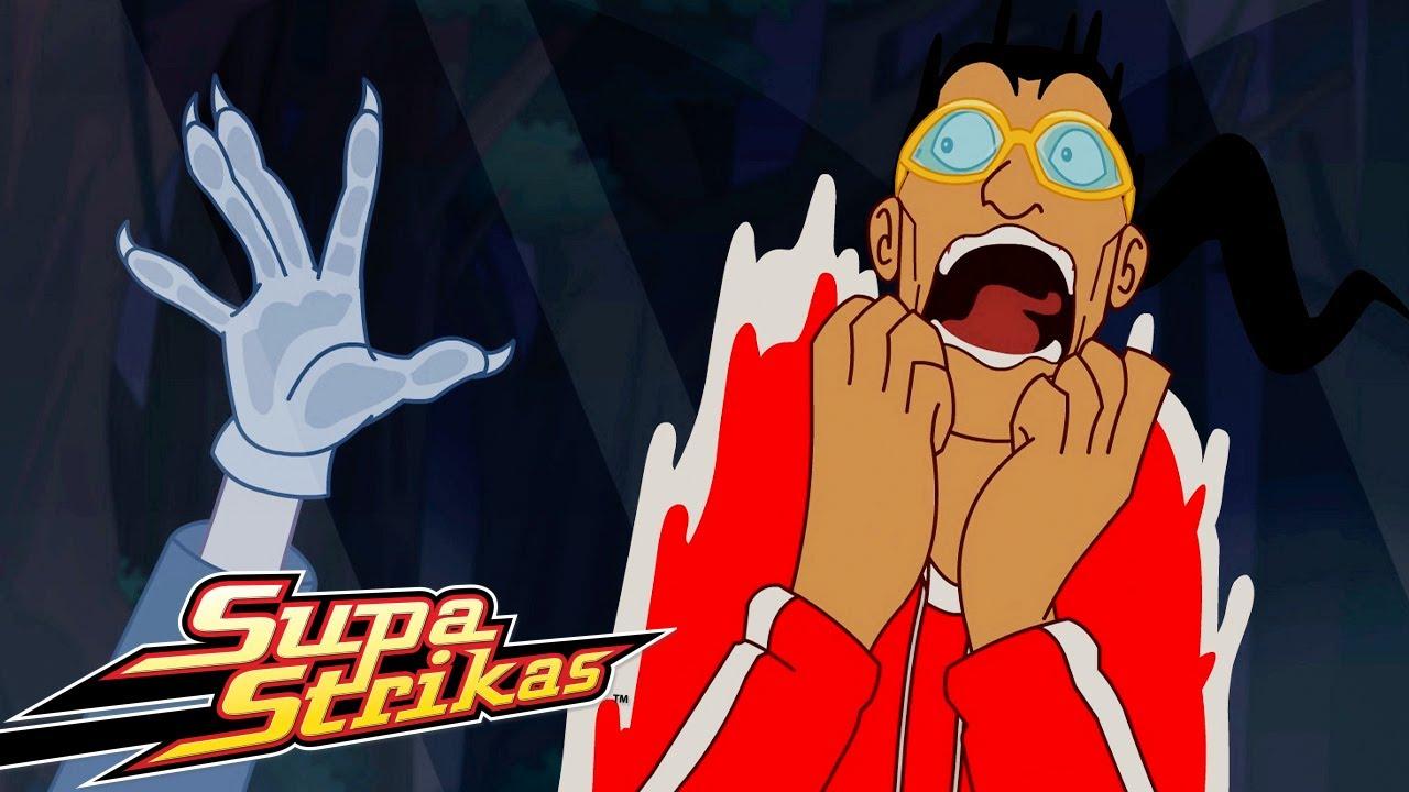 Supa Strikas | Halloween - Greetings From Sunny Feratuvia | Full Episode | Soccer Cartoons for Kids