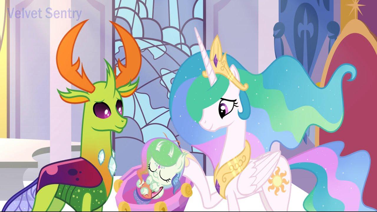 MLP [Next Gen] Newborn Princess Flosun Polle ( SpeedPaint )