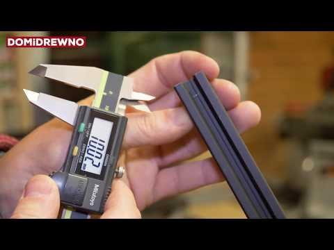 839. Druk 3D: Voron 2.1 - docinanie profili aluminiowych i prętów stalowych
