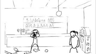 Смешные мультфильмы поединки