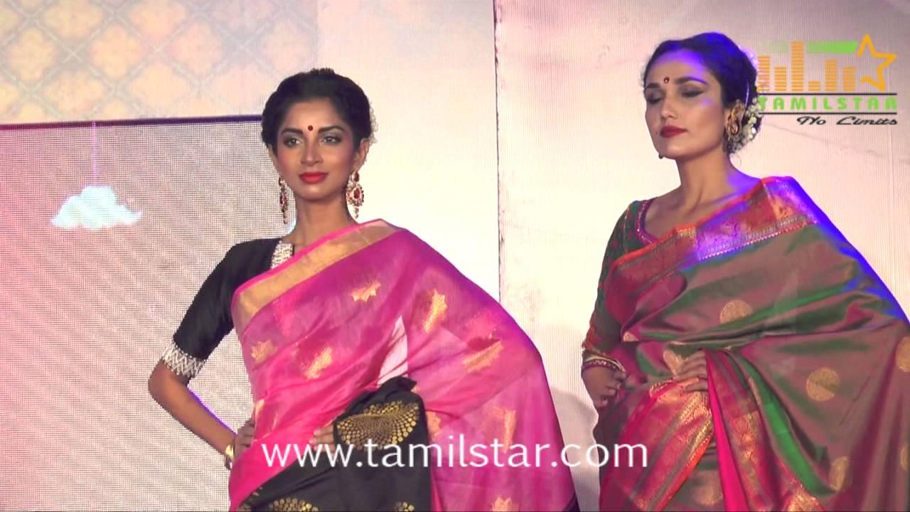 Palam Silks Fashion Show 2016 - YouTube