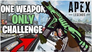 ONE WEAPON ONLY CHALLENGE With CharlieGoodTimes (Apex Legends PS4)