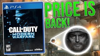 Call of Duty: Modern Warfare Campaign Info & Price Is Back!