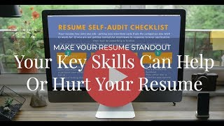 Make Your Resume Stand Out - Key Skills